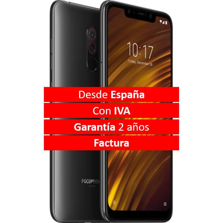 POCOPHONE 64GB desde España, IVA, Garantía y Factura