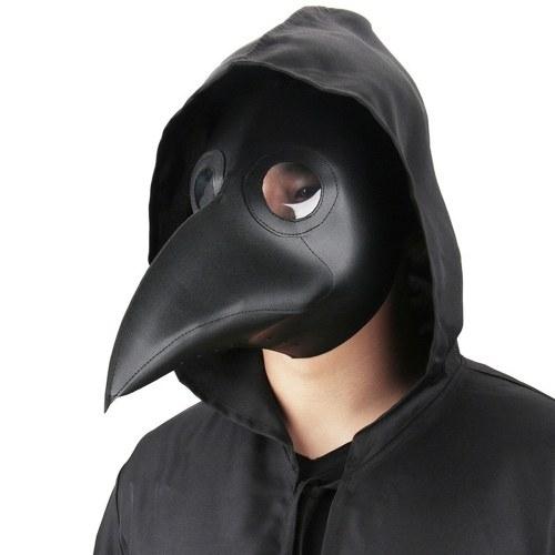 Máscara de doctor para contener la peste