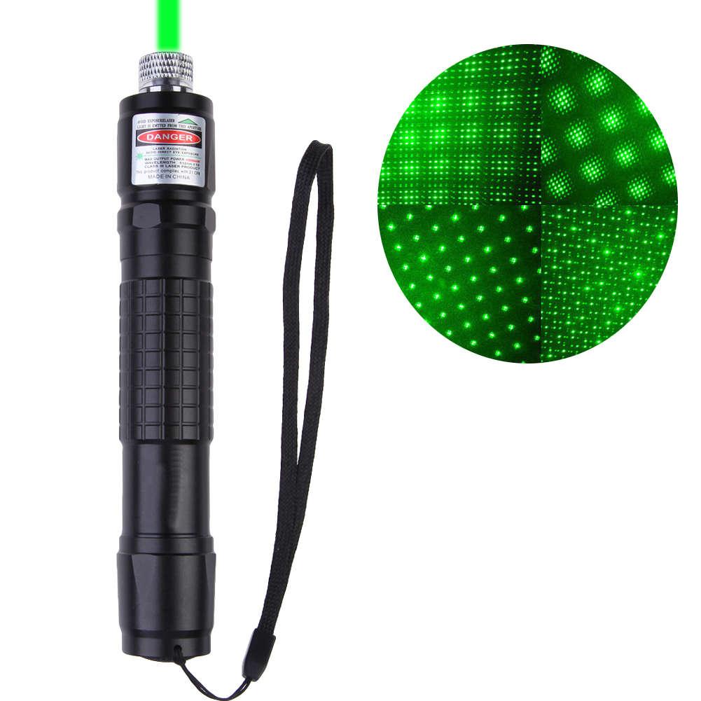 Láser verde 532nm con batería