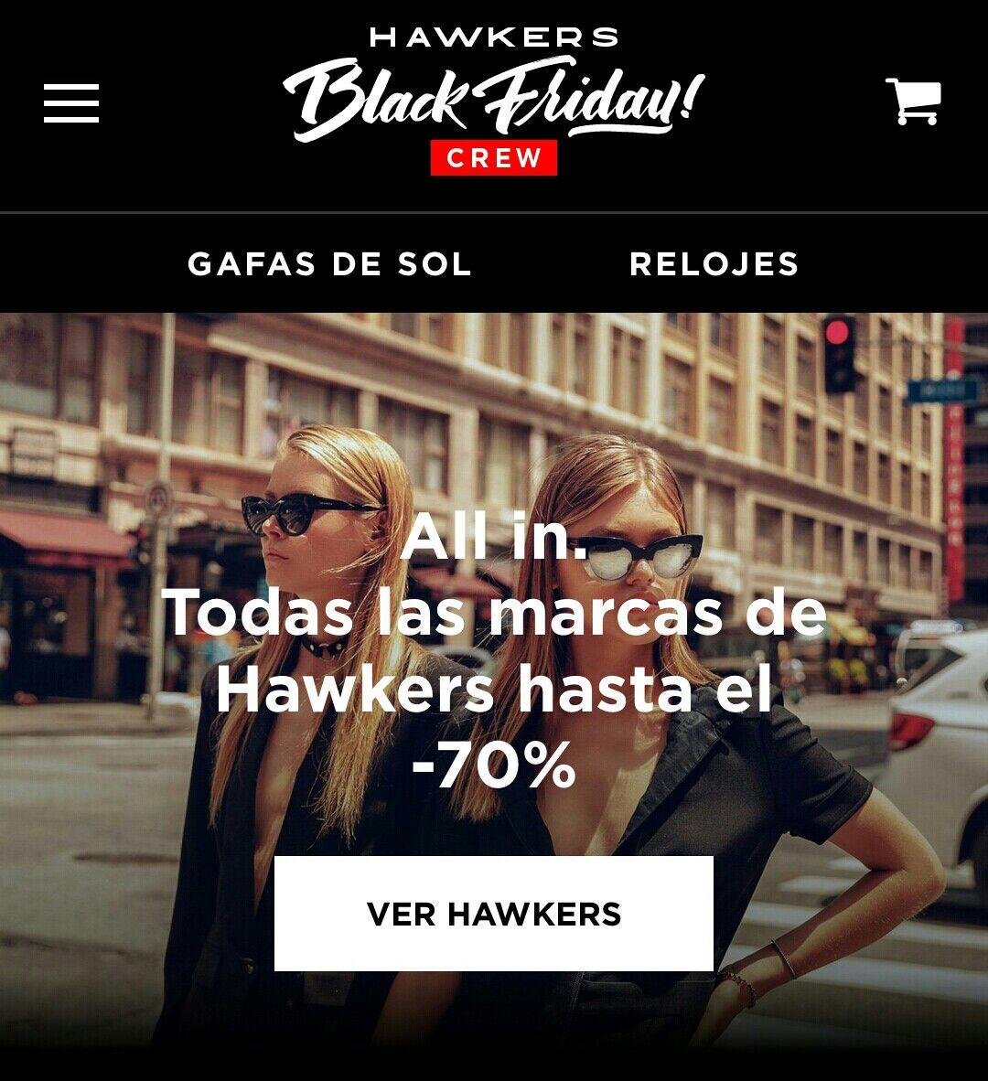 Hasta el 70% en Hawkers