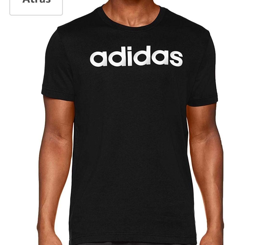 Camiseta adidas negra talla L