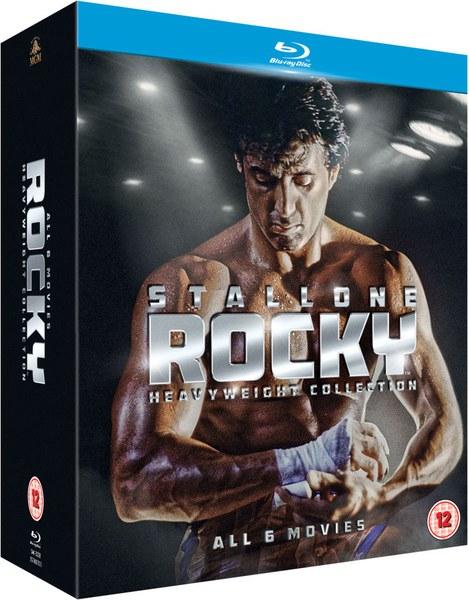 ROCKY: Colección completa en Blu-ray (6 películas)