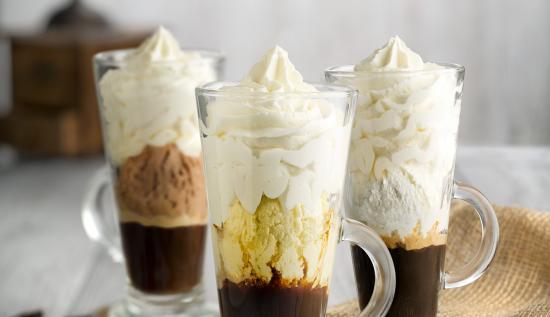 Café con helado en Rodilla GRATIS