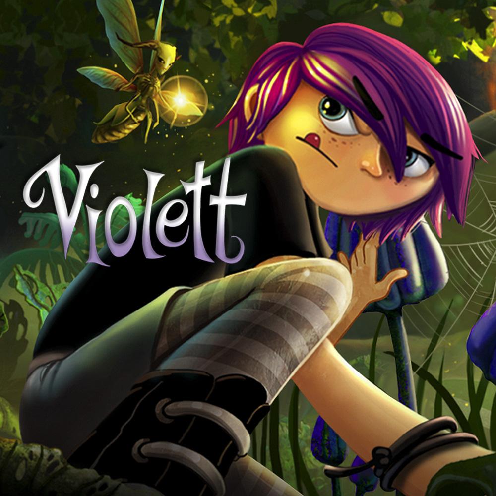 Videojuego Violett para Nintendo Switch