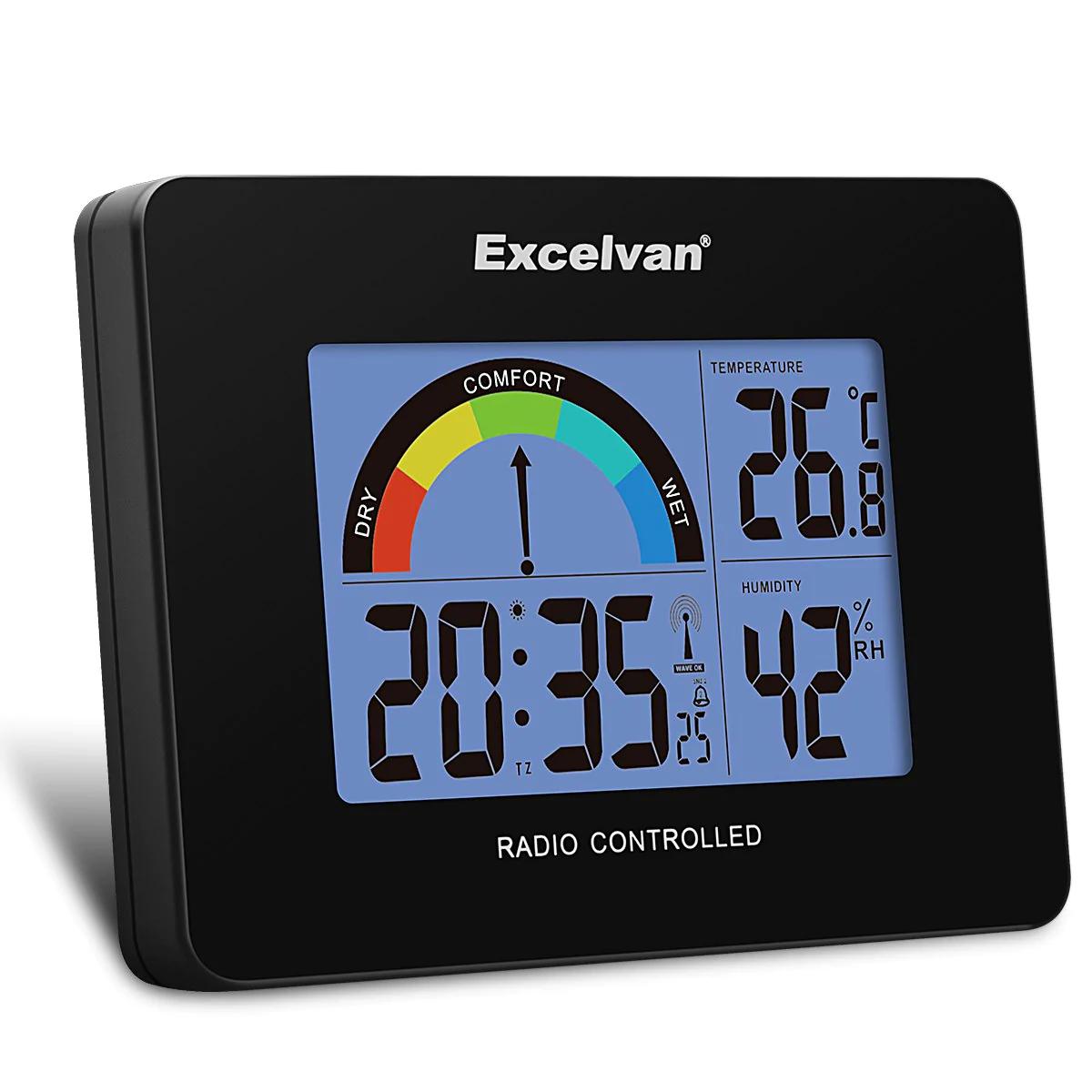 Termómetro Excelvan con alarma