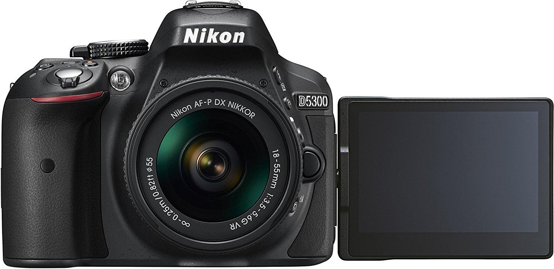 Cámara Nikon D5300 Digital SLR  +  objetivo 18-55mm