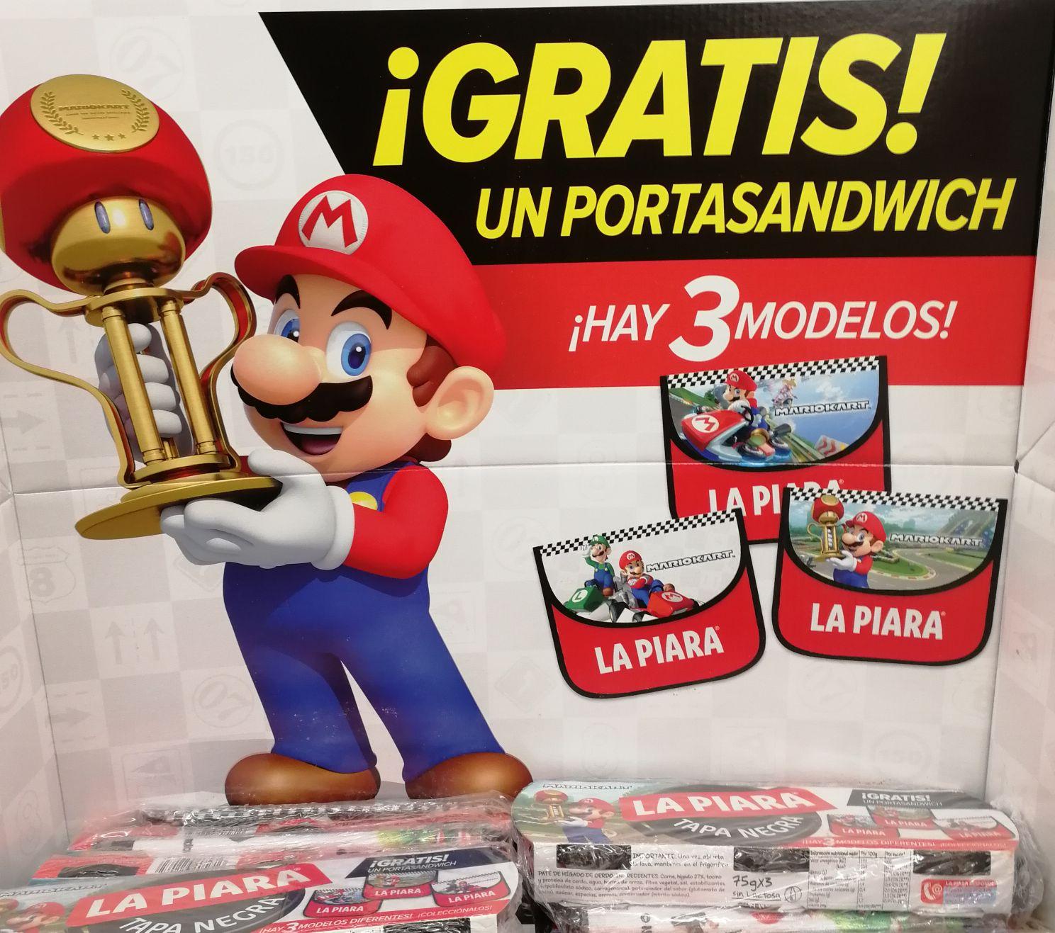 PortaSandwich de MarioKart [GRATIS] comprando 3 latas de LaPiara