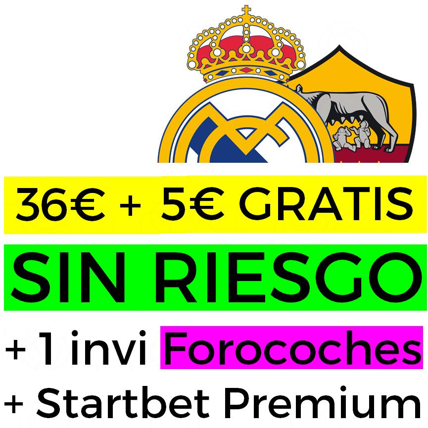 Apuesta 20€ SIN RIESGO y llévate 41€ + regalos