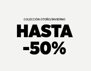 Hasta 50% en la colección Otoño/Invierno en Mango Outlet