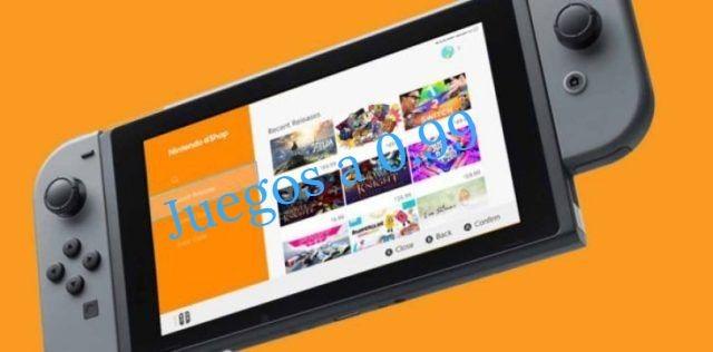Recopilación 2.0 Juegos Nintendo Switch rebajados a solo 0.99€