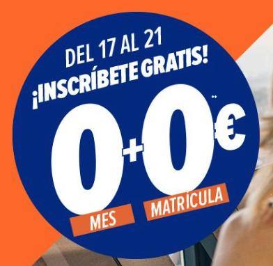Matrícula y primer mes por 0€ en Viva GYM