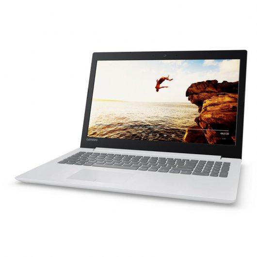 """Lenovo Ideapad 320-15AST AMD A9-9420/4GB/128GB SSD/15.6"""" Blanco"""