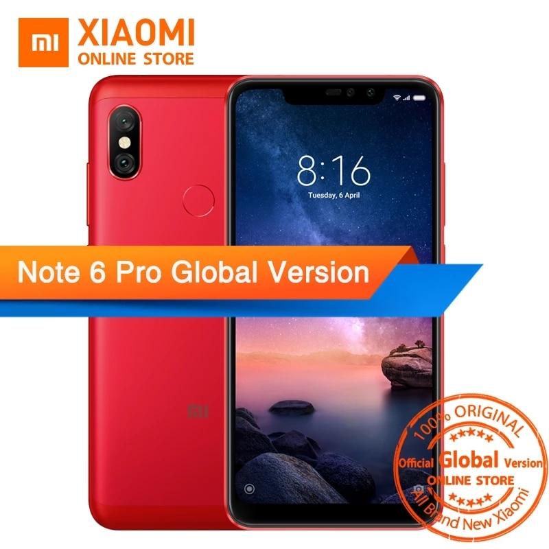 Xiaomi Redmi Note 6 Pro 3/32GB GLOBAL VERSION (B20)