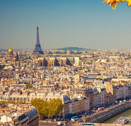 Fin de semana en Paris 101€/p= 2 noches en hostal hab. doble +vuelos