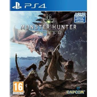 Monster Hunter World PS4 (Fnac Pal/ESP)