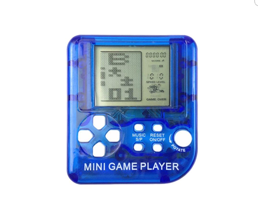 Mini consola de juegos retro, con 26 juegos incorporados (Tetris, etc.)