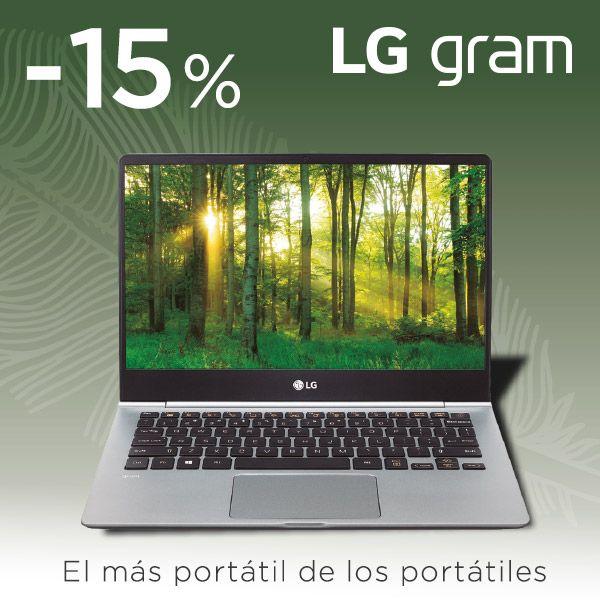 15% de descuento en LG Gram