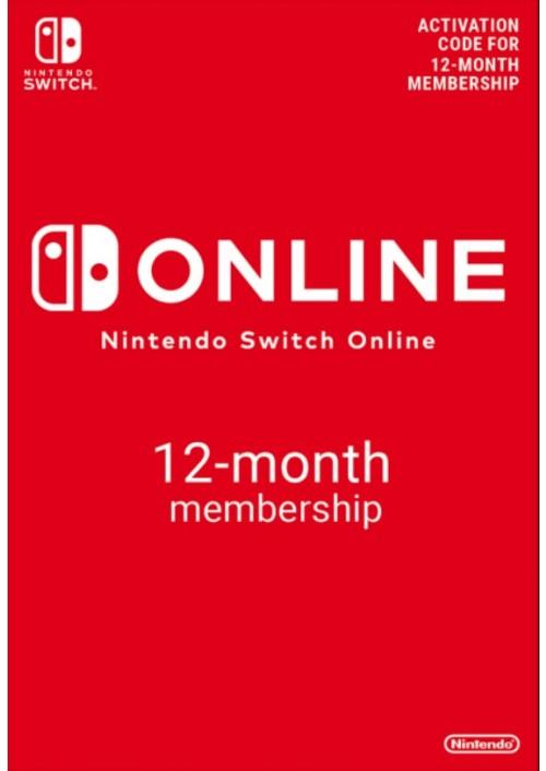 Nintendo Switch Online 12 Meses (Con 5% de facebook)