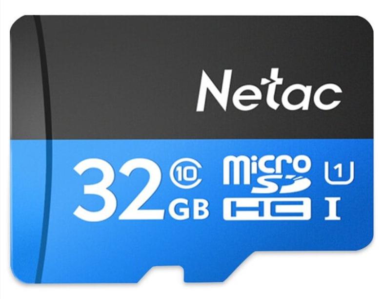 Tarjeta Micro SD 32GB Netac P500