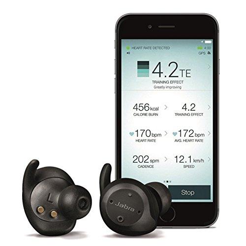 Jabra Elite Sport - Auriculares estéreo totalmente inalámbricos