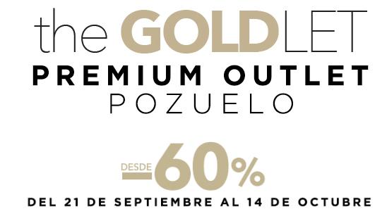 The Goldlet - Outlet premium en Pozuelo