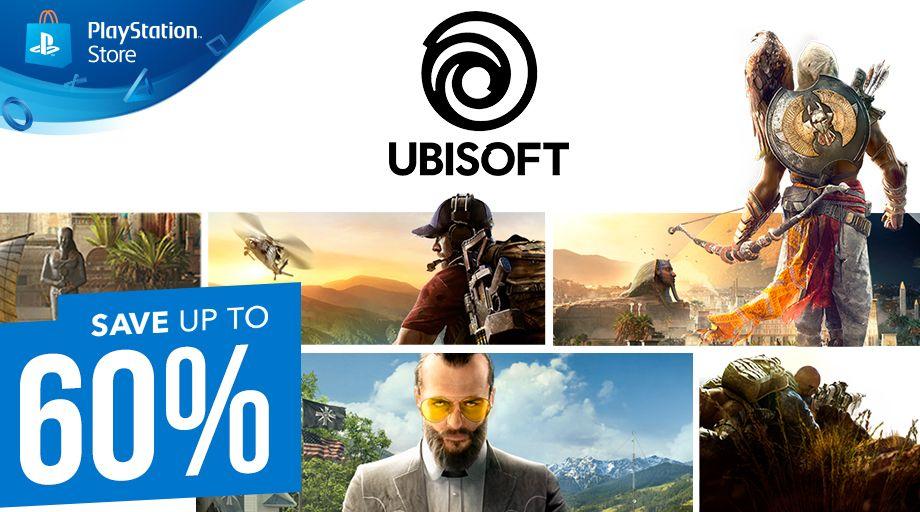 +200 juegos rebajados de Ubisoft (PlayStation Store)