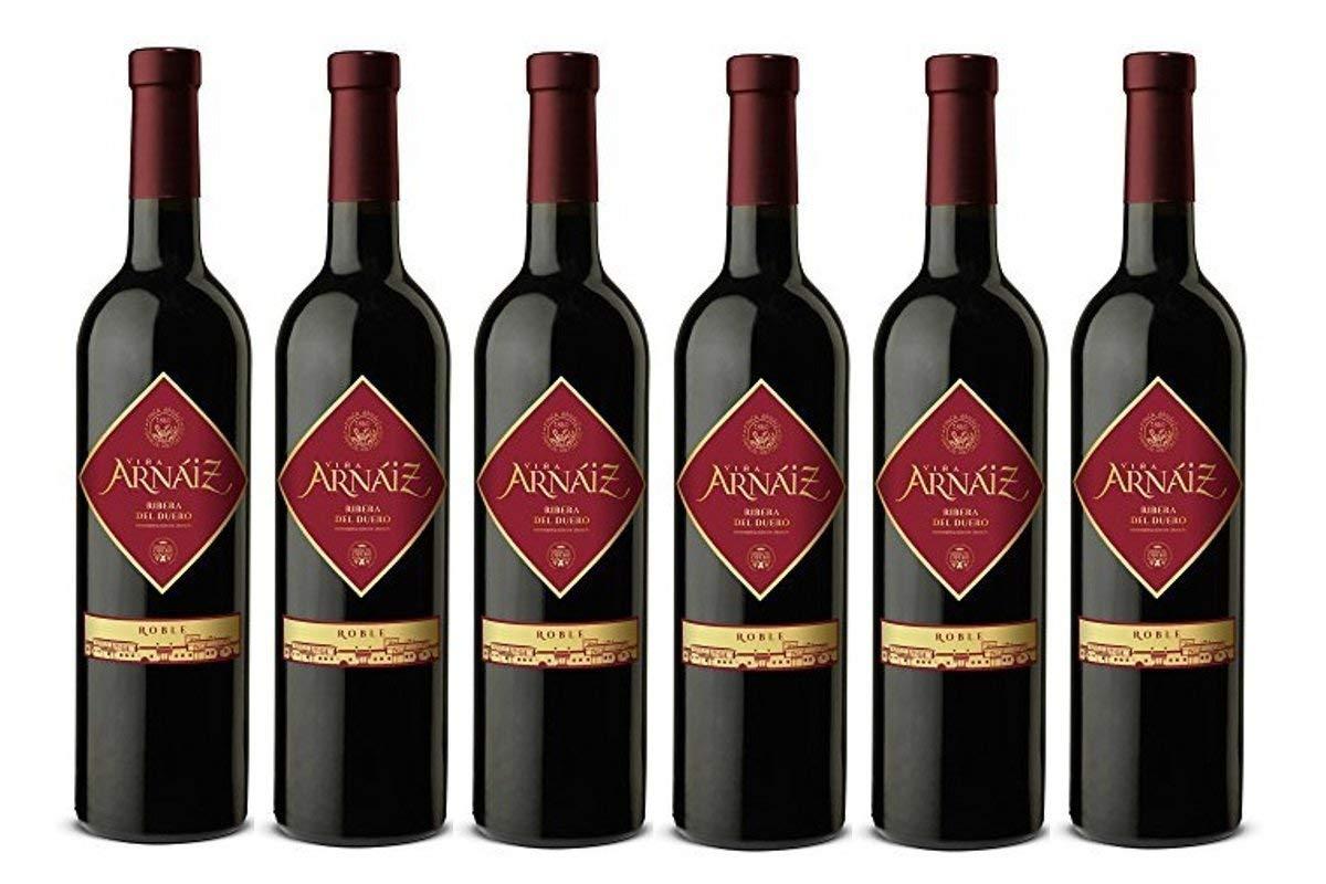 6 botellas Viña Arnaiz Roble D.O Ribera del Duero Vino Tinto