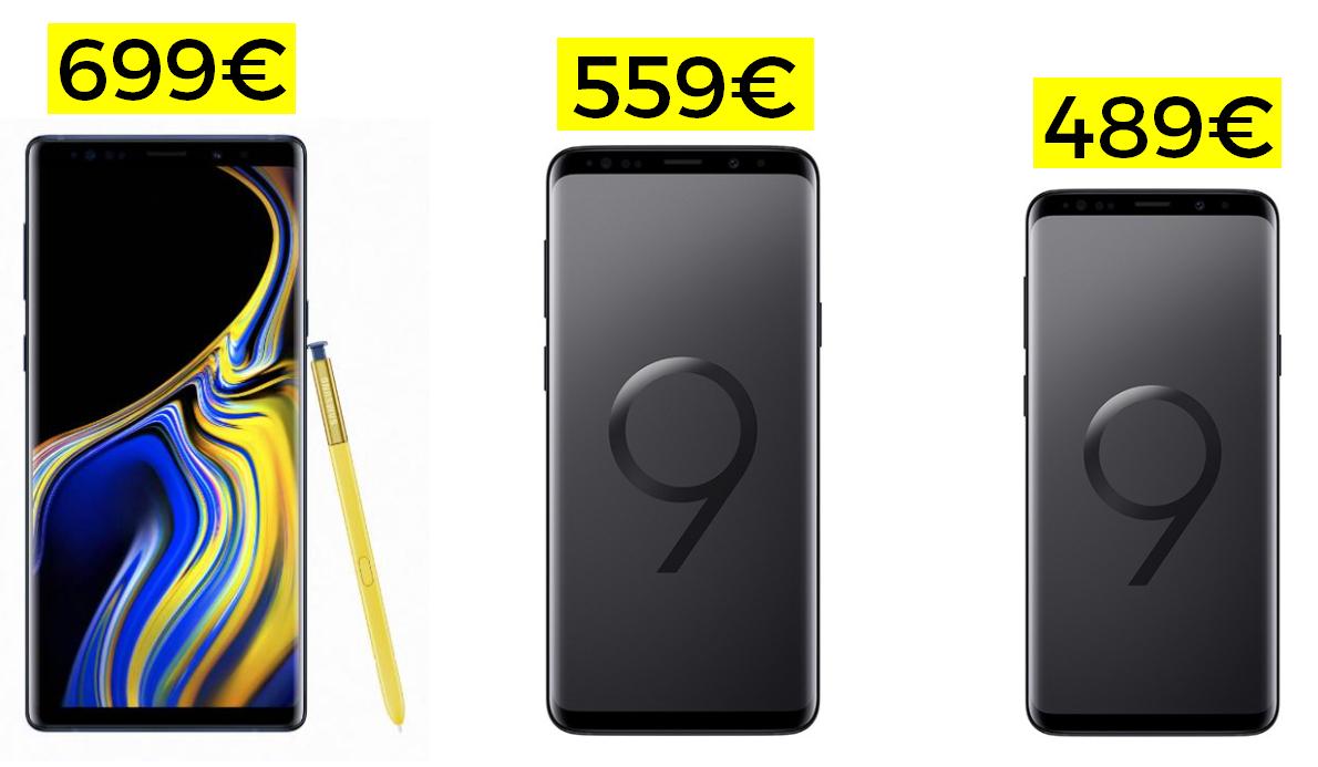 Samsung Note 9 128GB desde Europa solo 699€ (desde Europa)