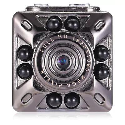 Mini cámara Fullhd con visiòn nocturna, detección de movimiento, bateria, soporte clip