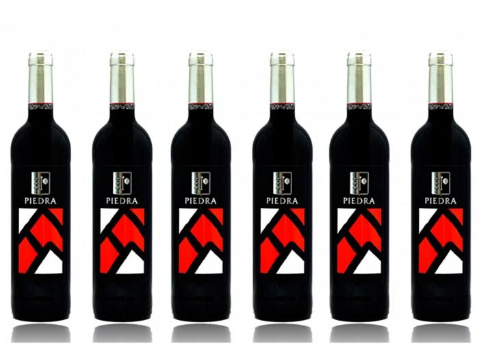 6 botella de vino Piedra Roja D.O. Toro