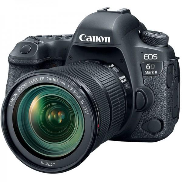 Canon EOS 6D mark II DSLR con Objetivo EF 24-105mm