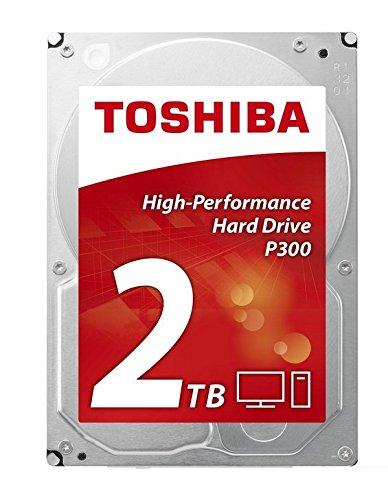 """Toshiba P300 - Disco duro interno de 2 TB (8,9 cm (3,5""""), SATA)"""