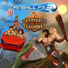 TODAS PLATAFORMAS: Pinball FX3 Carnivals and Legends (gratis)