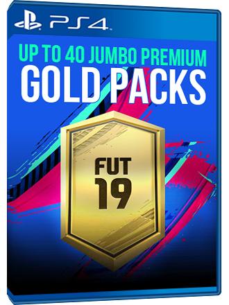 FIFA 19 - FUT Premium Gold Packs (40 sobres Oro premium)