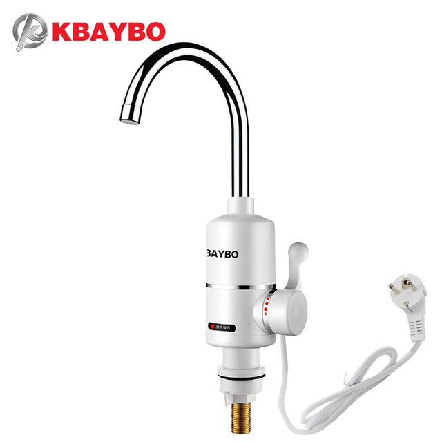 El termogrifo: grifo + calentador de agua instantáneo