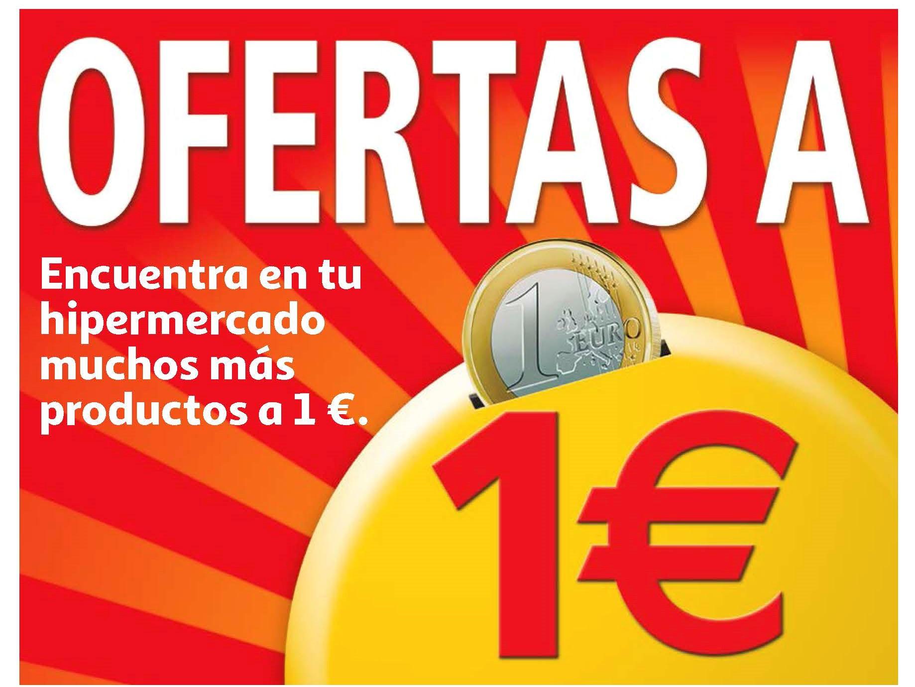Productos a euro en Alcampo