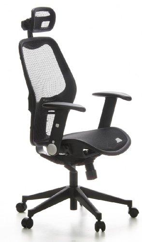 silla de oficina con buen respaldo