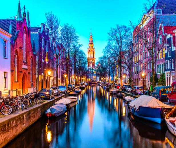 Amsterdam 91€/p=2 noches en hotel con vuelos ida/vuelta incluidos