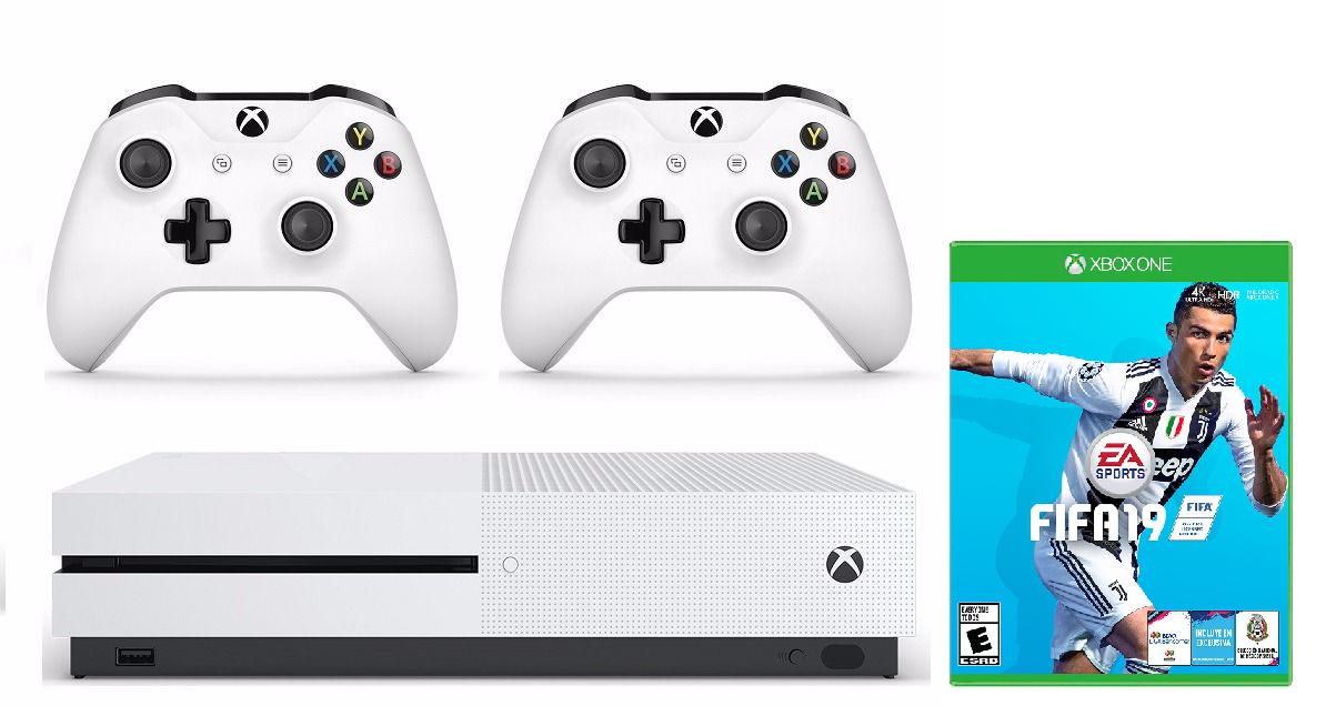 Xbox One 1TB + FIFA 19 +mando solo 249€