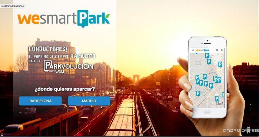 5 € GRATIS en WeSmartPark + pegatina de entrada automática a los parkings
