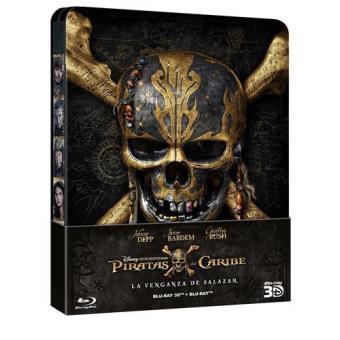 Steelbook Blu-Ray 3D | Piratas del Caribe 5