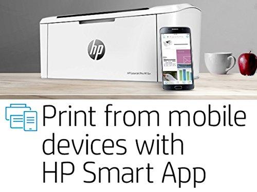 Impresora láser HP (USB 2.0, WiFi, 18 ppm, Memoria de 8 MB, Wi-Fi Direct y aplicación HP Smart)