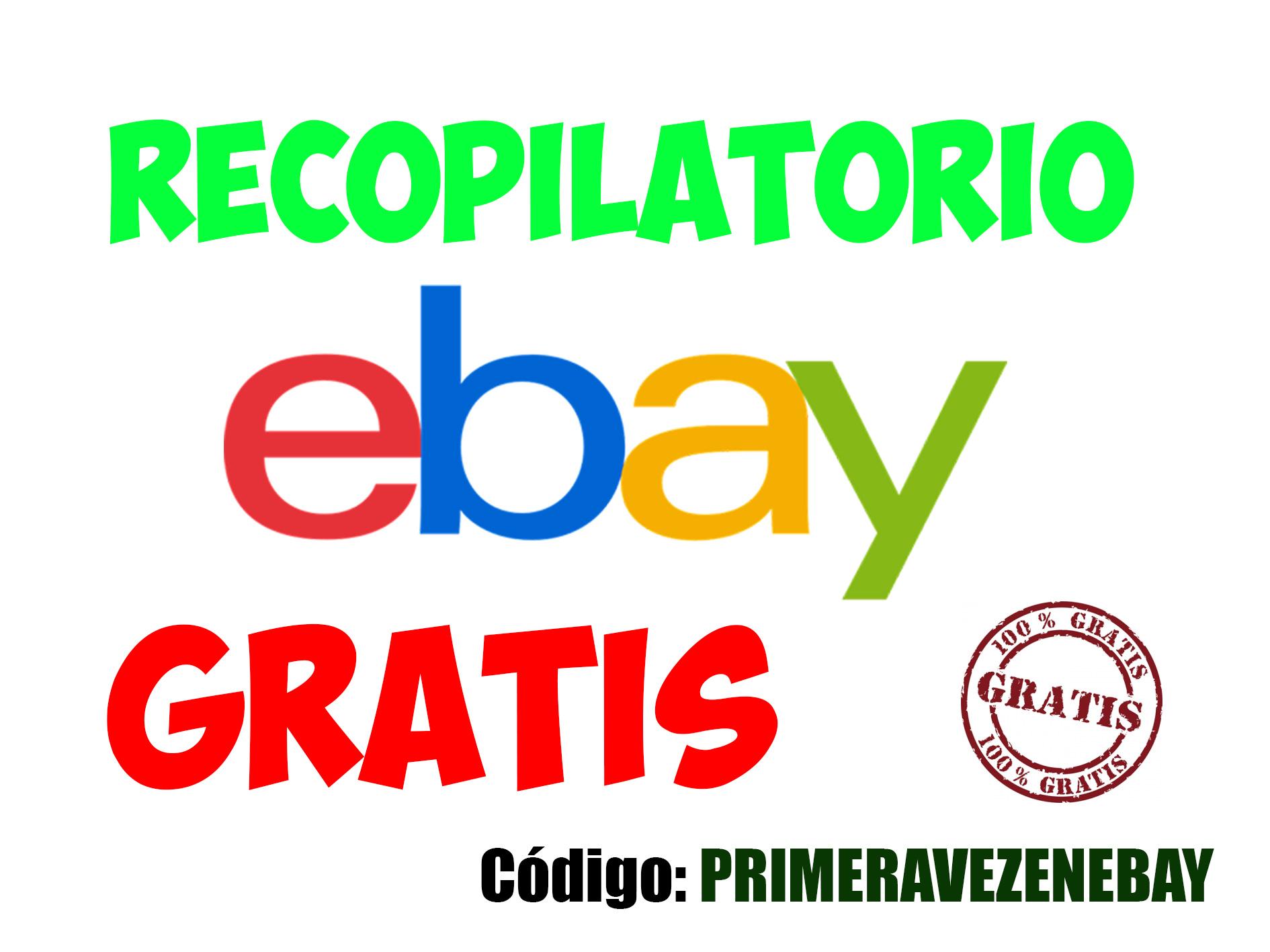 RECOPILATORIO ARTÍCULOS GRATIS EBAY