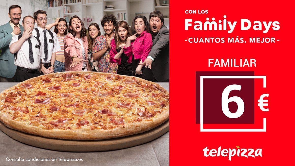 Family Days en Telepizza 26 y 27 de Septiembre