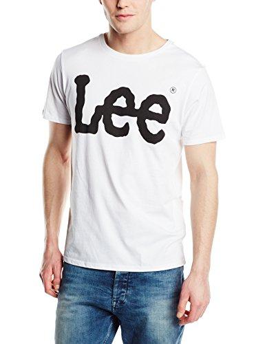 Lee Logo Tee, Camiseta para Hombre