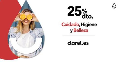 25% de descuento al pagar con PayPal en Clarel