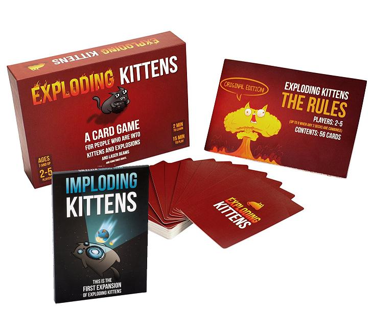 Exploding Kittens o Imploding Kittens 4.9€