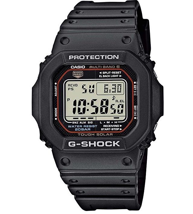 Reloj Casio G-Shock Solar Radiocontrolado GW-M5610-1ER