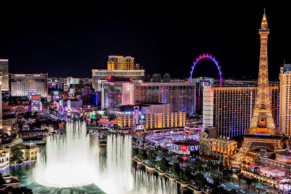 Vuelo ida y vuelta Barcelona - Las Vegas. Del 8 al 20 de febrero de 2019