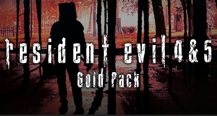 PC: Resident Evil 4 & 5 Gold Pack (Steam)
